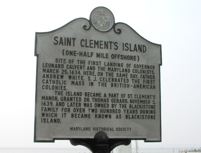 Image result for St. Clement's Island