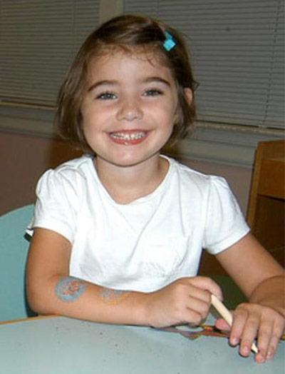 Caroline Previdi, age 6