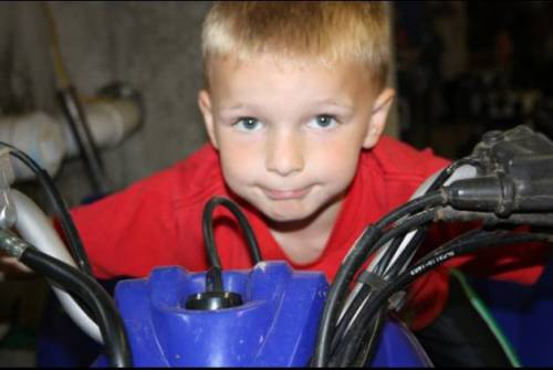 Chase Kowalski, age 7
