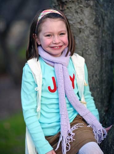 Olivia Engel, age 6