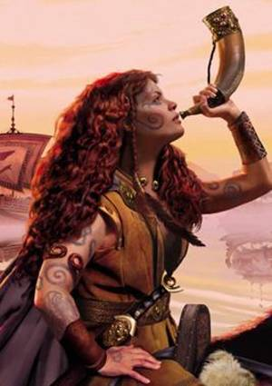 Queen Boudicca of Celtic Britain.