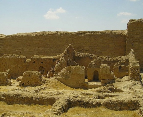 The ancient fort of Dura-Europos in Syria – possibly the site of one of the world's first chemical attacks.