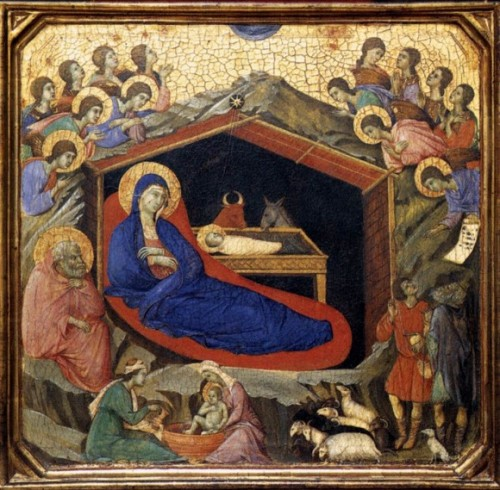 Duccio, Nativity panel, ca. 1308, National Gallery of Art – Washington, D.C.