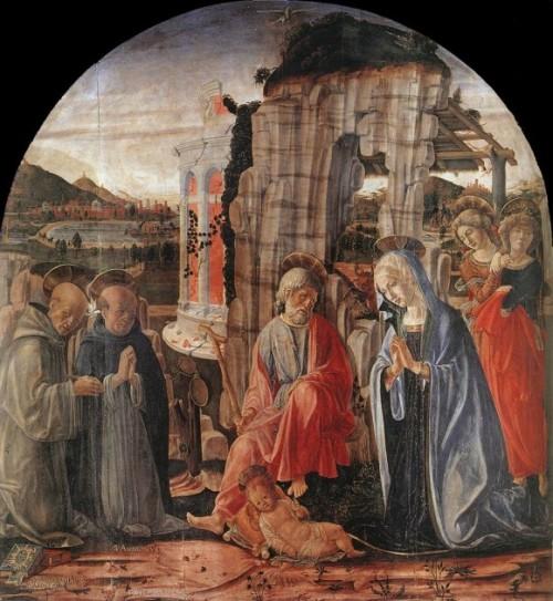 Francesco di Giorgio Martini, 1475, Pinacoteca Nazionale – Siena.