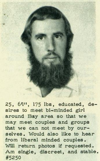 Desirable beard wants couplings.