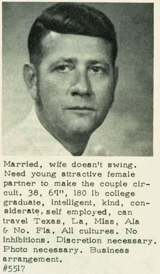 Interstate businessman.