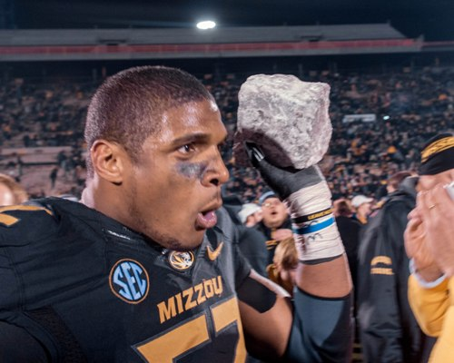 Michael Sam hopes to turn his collegiate football career into a professional one.