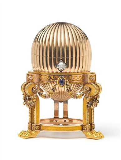 Not for scrap – this Faberge Egg is worth a few million and some change.