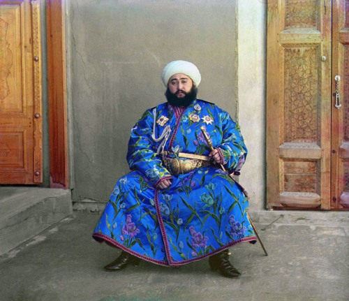 The Emir of Bukhara, 1911.