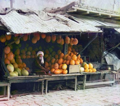 Melon vendor, 1911.