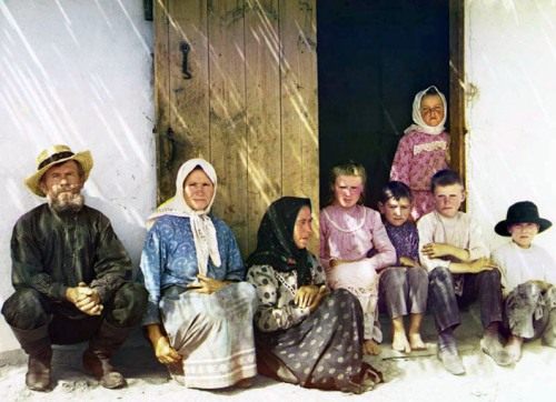Migrant family, ca. 1907-1915.