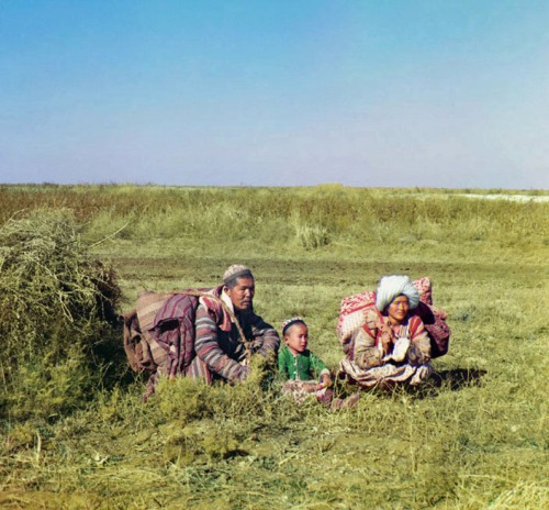 Nomadic Kirghiz, 1911.