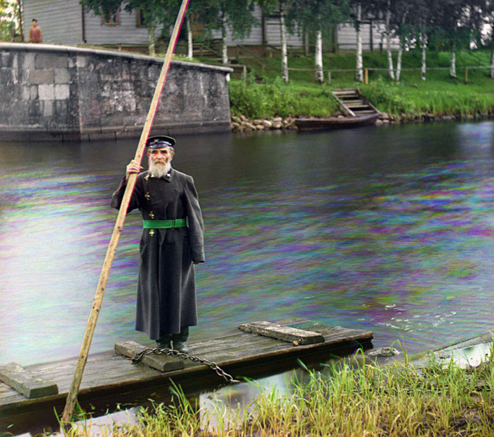 Pinkhus Karlinskii – Supervisor of Chernigov Floodgate, 1909.