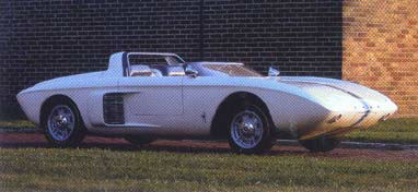 A Mustang Prototype from 1962.