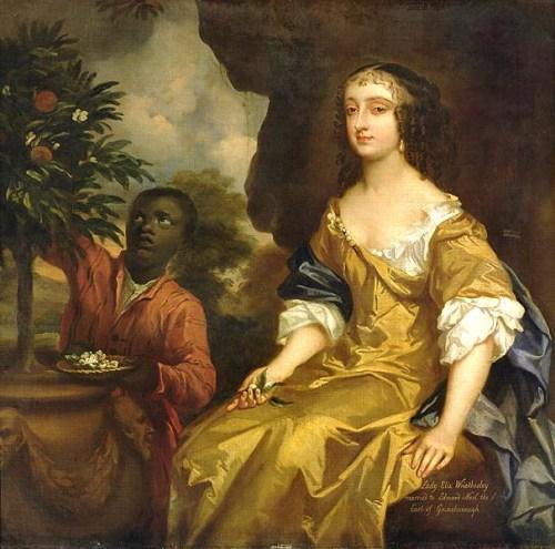 """""""Lady Elizabeth Noel Wriothesley,"""" Peter Lely, 1660-65."""