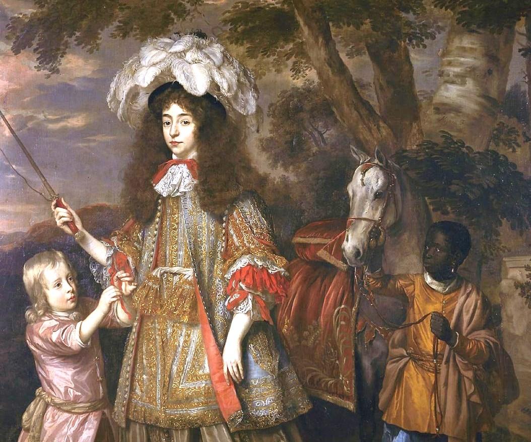 """Portrait of Maria, Princess of Oranje,"" Jan Johannes Mijtens, 1665."