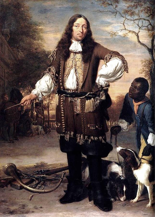 """""""Portrait of Johan de la Faille,"""" Jan Verkolje, 1670s."""