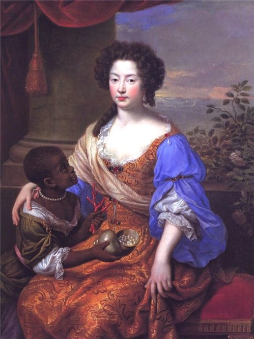"""Louise de Kéroualle, Duchess of Portsmouth,"" Pierre Mignard, 1682."