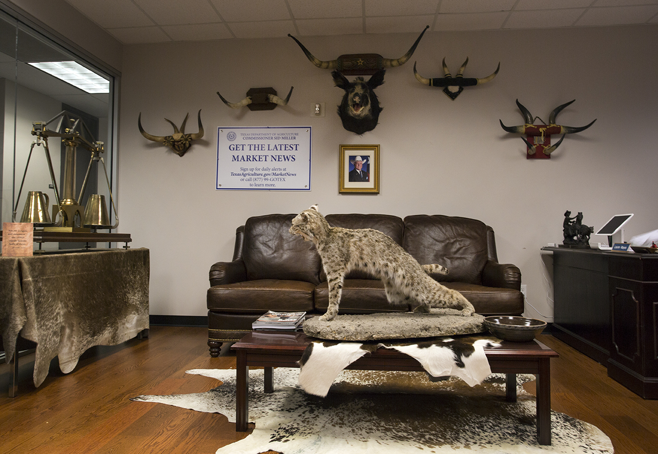 Miller spent $55,000 decorating his office.